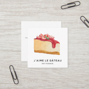 Homemade cake business cards zazzle au bakery patisserie business card reheart Choice Image