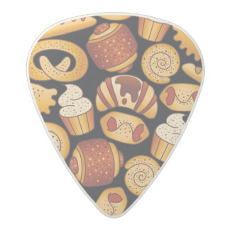 Bakery products acetal guitar pick