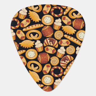 Bakery products guitar pick
