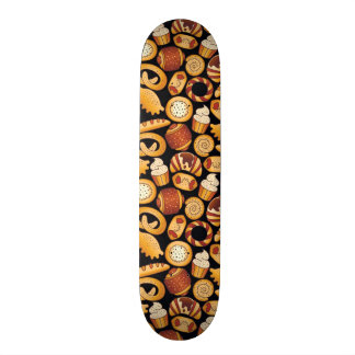 Bakery products skate board