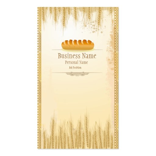Bakery Shop Business Cards
