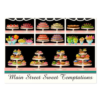 Bakery / Sweet Shop / Ice Cream Business Card