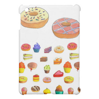 Bakery Time, donuts and cupcakes iPad Mini Covers