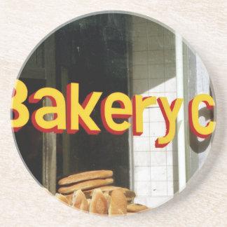 Bakery Window Drink Coasters