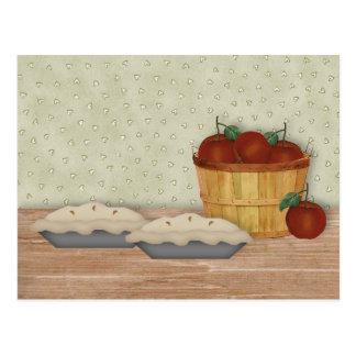 Baking Apple Pie Recipe Card