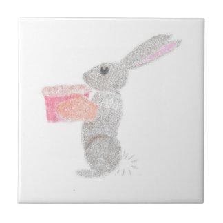 Baking Bunny Ceramic Tile