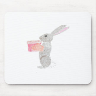 Baking Bunny Mouse Pad