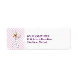 Baking Business Cake Biz Return Label Return Address Label