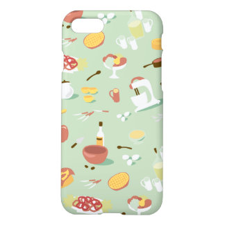 Baking Cake and Pies in the Kitchen iPhone 7 Case