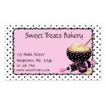 Baking Cookies Polka Dots Business Cards