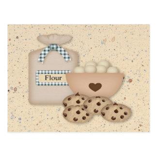 Baking Cookies Recipe Card