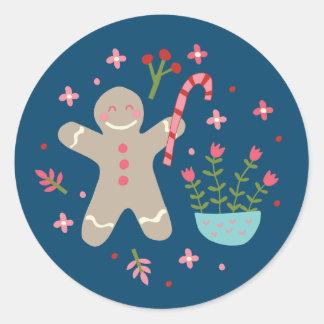 Baking Gingerbread - Coordinating Sticker
