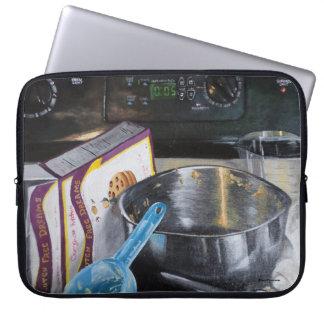 Baking in the Kitchen Acrylic Paint Laptop Sleeve