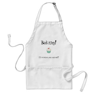 Baking! It's science you can eat! Standard Apron