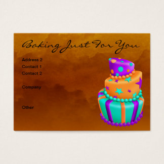 Baking Just For You Business Card