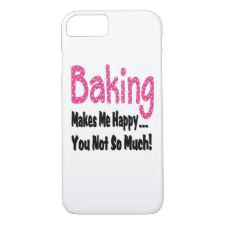 Baking Makes Me Happy iPhone 7 Case