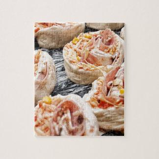 Baking pizzette jigsaw puzzle