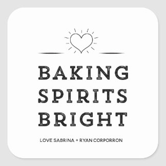 Baking Spirits Bright Cookie Exchange Stickers
