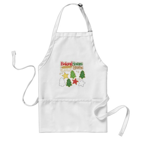 Baking Sprits Bright Standard Apron