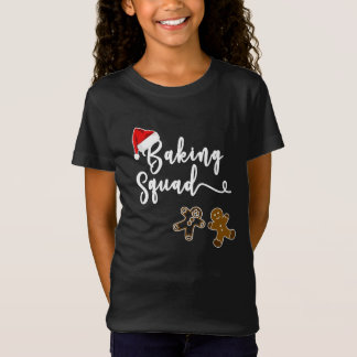 Baking Squad, Backing Team. Christmas T-Shirt