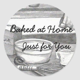 Baking Stickers Homemade Gifts Holiday Cookies