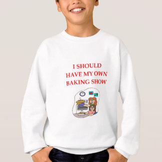 baking sweatshirt