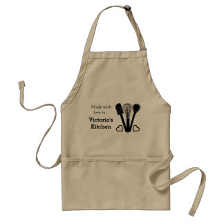 Baking Tools Personalized Name Standard Apron