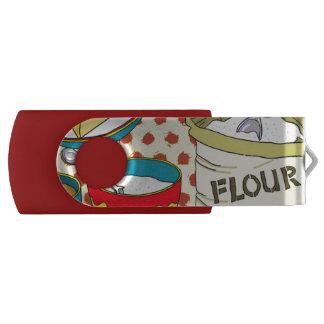 Baking USB 3.0 Flash Drive 16 GB Pink Swivel