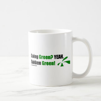 Bakken Green Coffee Mugs