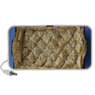 Baklava, a kind of pastry travel speakers