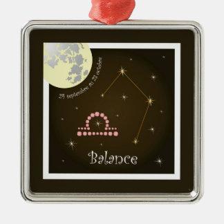 Balance 24 septembre outer 23 octobre ornamentatio christmas tree ornament