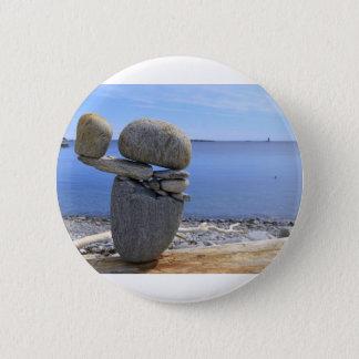 Balance 6 Cm Round Badge