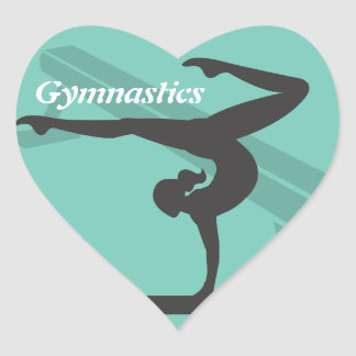 Balance Beam Gymnastics Sticker