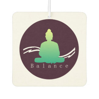 """Balance"" Beautiful Buddha. Car Air Freshener"