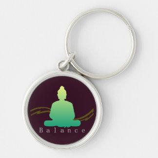 """""""Balance"""" Beautiful Buddha. Key Ring"""