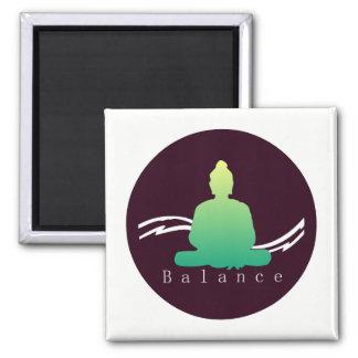 """""""Balance"""" Beautiful Buddha. Magnet"""