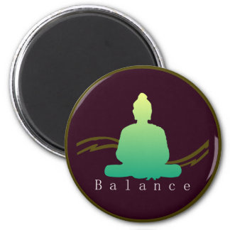 """""""Balance"""" Beautiful Buddha Magnet. Magnet"""