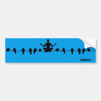 Balance Bumper Sticker