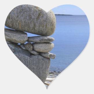 Balance Heart Sticker
