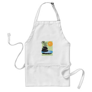 Balance Is Always Found In Nature Apron