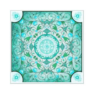 Balance of Nature Healing Mandala Canvas Print