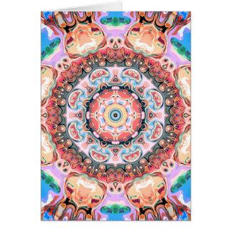 Balance of Pastel Shapes Card