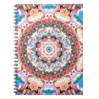 Balance of Pastel Shapes Notebook