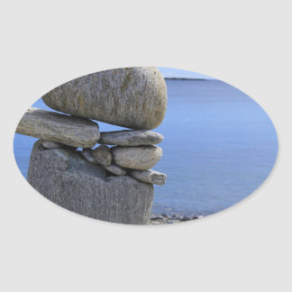 Balance Oval Sticker