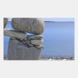 Balance Rectangular Sticker
