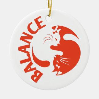 Balance Round Ceramic Decoration