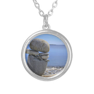 Balance Silver Plated Necklace