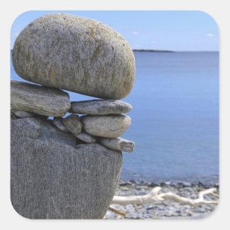 Balance Square Sticker