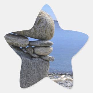 Balance Star Sticker
