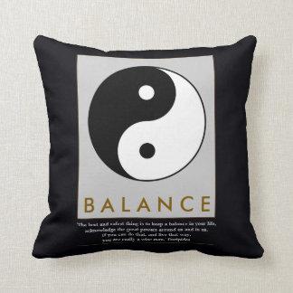 balance zen yin yang cushion